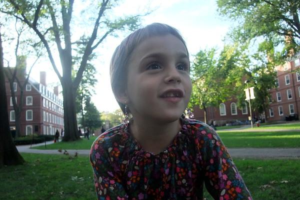 Anya at Harvard.
