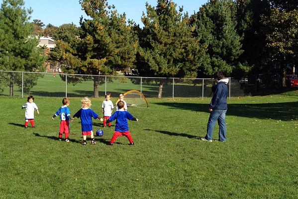 Anya's soccer game.