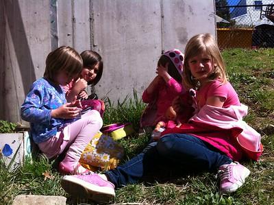 Urban picnic.