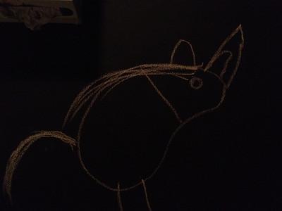 Unicorn, by Anya.