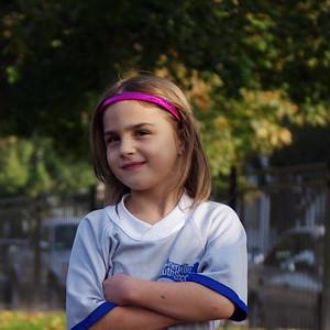 Soccer kid.
