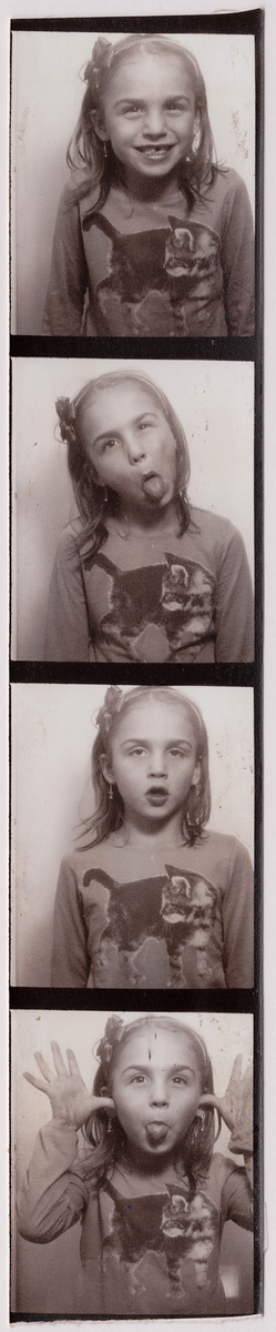 Photobooth. (The first and last frames are keepers!)