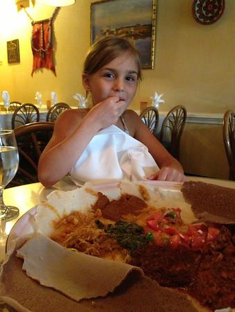 Anya likes Ethiopian cuisine.