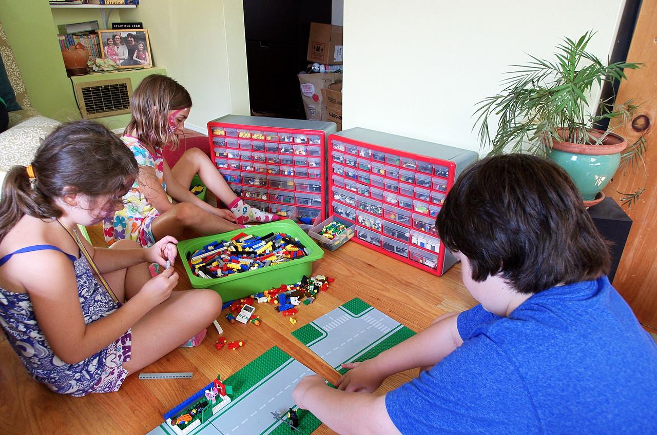 Lego time.