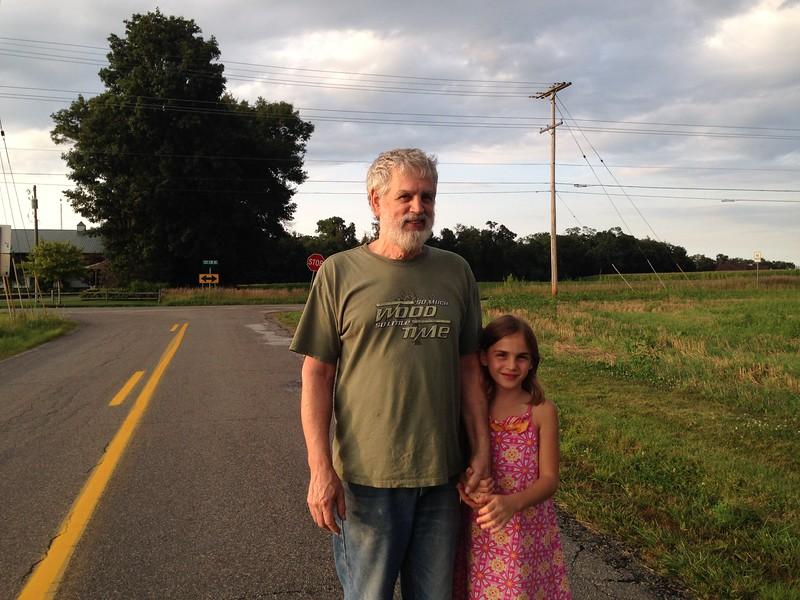 Papa and Anya.