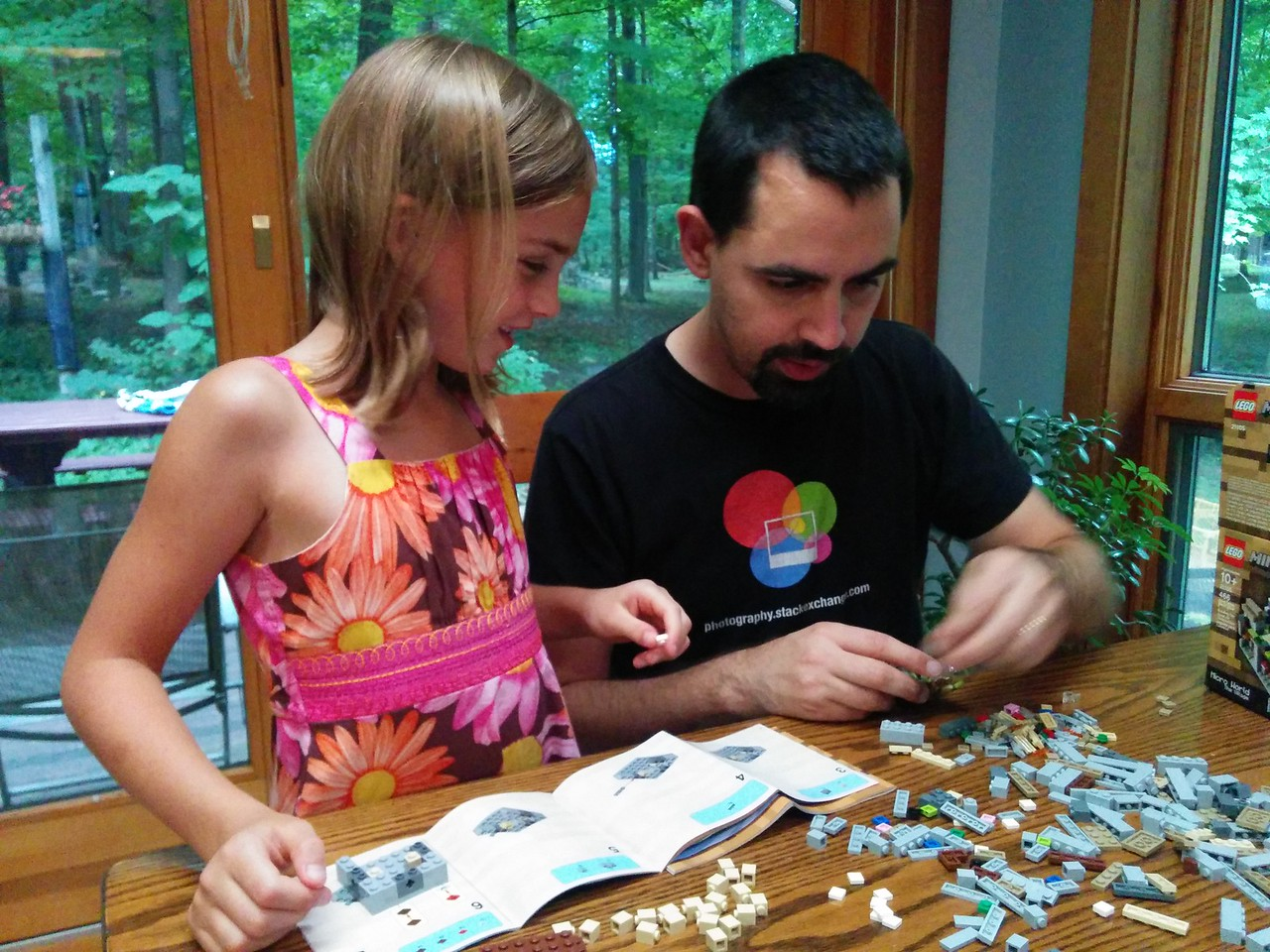 Lego with Daddy!
