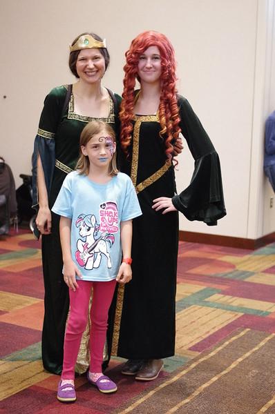 Princesses everywhere!