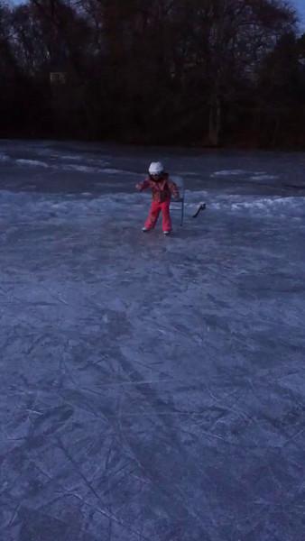 Aoife on Skates
