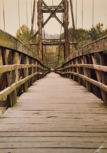 Footbridge, Hazard, KY