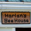 Harlan, the beekeeper, has his own honey processing house, but later it will become the cannery.