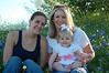 Aunt Brooke, Mommy, and Hallie