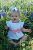Hallie in the bluebonnets
