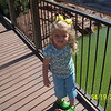 We went to the zoo with Nana and Papa.  Camden's enjoying the pretty weather.
