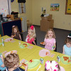 A special pizza lunch for their Easter party