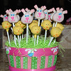Cake pops I made for Hallie's Easter party at school!