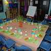 Easter party set up