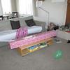 Krista's birthday present...a hammock!