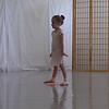 Lena in dance class.