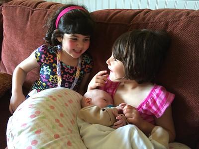 Anna, Hannah and Benjamin
