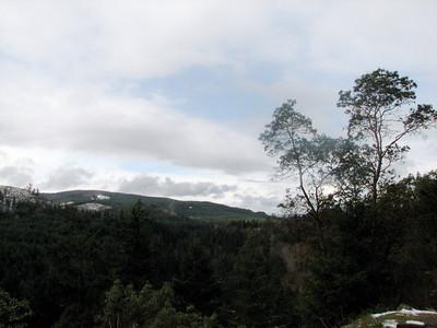 Dam on the way to Mt. Rainier