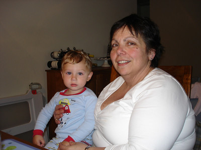 Lincoln and Grandma Patty