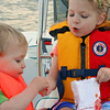 Goldfish and sea stars are the best boating snack.