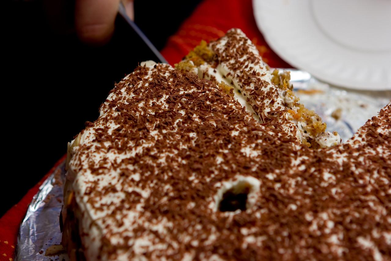 The wonderful cake.