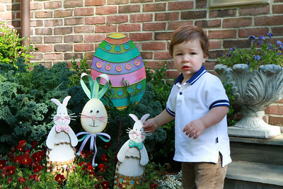 Luke preparing for Easter 3-24-12.