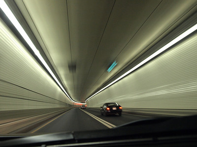 Baltimore Harbor Tunnel. The end.