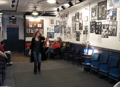 The Altered Stages lobby.