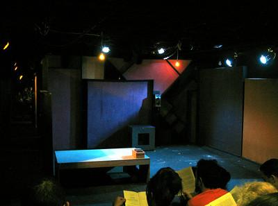 """Archipelago"" stage pre-set"