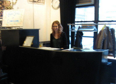 Emerie Geiger Snyder ... artistic director, director, producer--and box office staff.