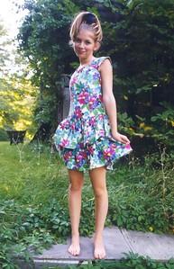 Arielle in dress