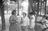 Parry Family ReunionJuly 7, 1965<br /> Mary Moore, Jess Vinnecombe, Roberta (turned) Gwen (far right edge)