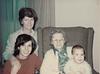 Mom, Susie, Nanny & Matt; circa 1976 ~ 77