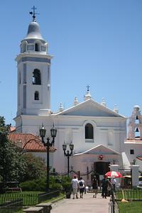 The basilica near the necropolis