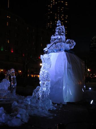 Boston ice sculptures 31.12.12