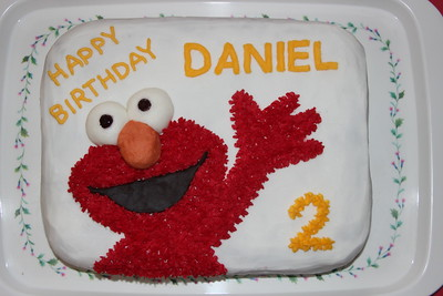 Daniel's 2nd birthday party in Jerusalem