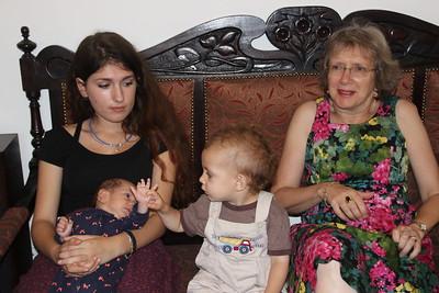 Boaz K & Auntie Yael