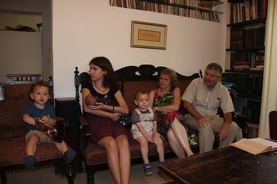Eitan & Boaz Kaplan with Auntie Yael K
