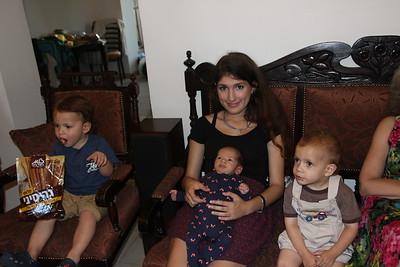 Eitan & Boaz K & Auntie Yael