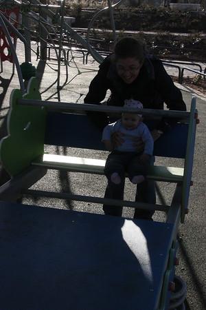 at the park mesila