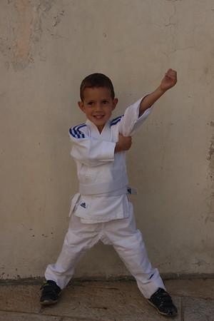 Daniel (and Keren) at judo