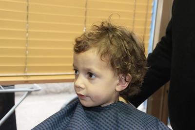 Daniel's haircut 29.1.2017