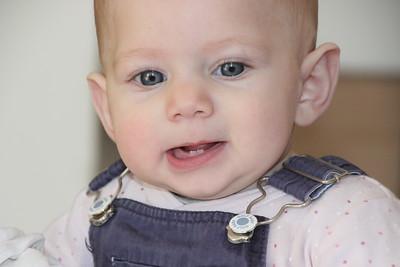 Keren's teeth at 7 months