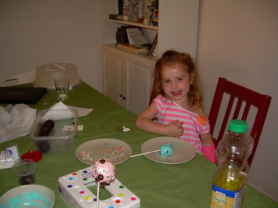 Making cake pops with Noga 20.8.12