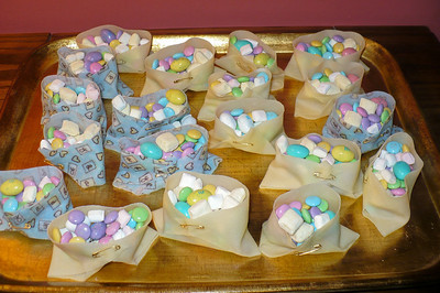 Mary Ann & Gloria's diaper candy cups