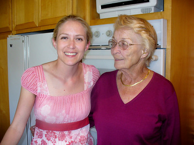 Ari and her Grandma