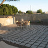 Patio for parties