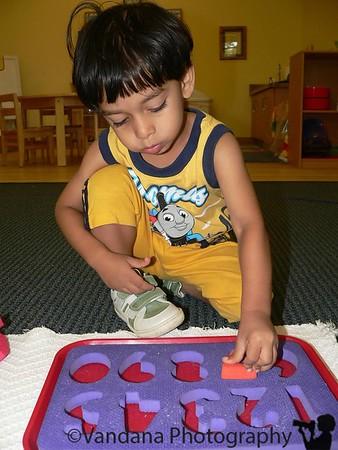 Arjun's school pics 2014